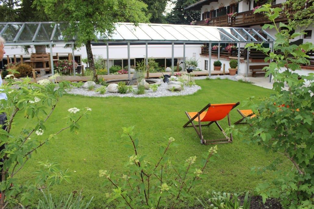Hotelgarten Bad Wiessee
